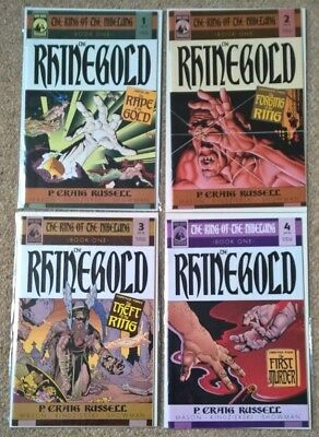 Dark Horse The Ring of the Nibelung: The Rhinegold #1 Craig Russell art 2000