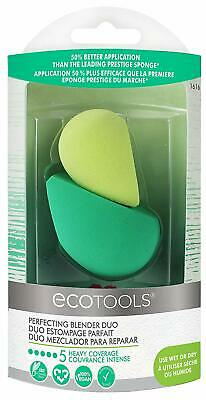 EcoTools Perfecting Blender Duo 2 Beauty Sponge for Flawless Foundation Coverage