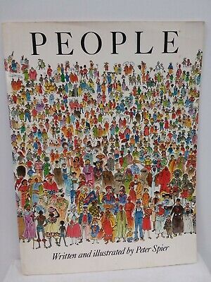 People by Peter Spier 1980 Paperback Large Book