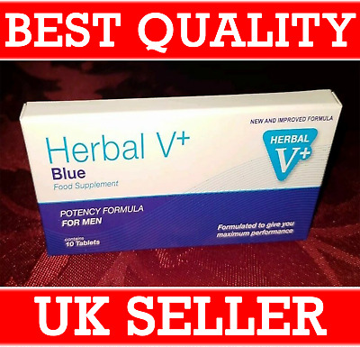 10 X 100Mg Blue Sex Tablets For Men. Guaranteed To Work Free P&P