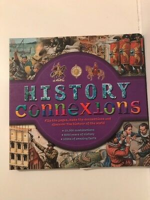 History Connexions Hard Back Velcro Fastend. BRILLIANT BOOK FOR KIDS