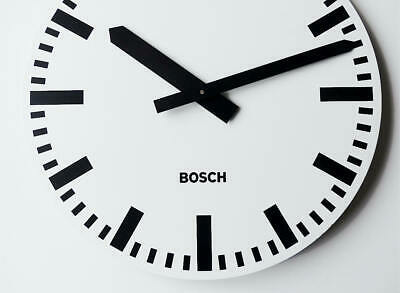 Large german genuine BOSCH Industrial Clock Modernist office factory wall