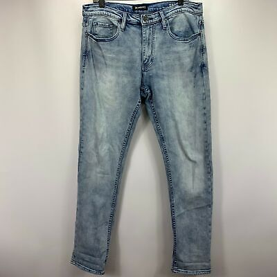 Blank NYC Wooster Slim White Distressed Destroyed Denim Jeans 32//33//34//36 x32