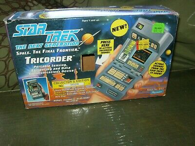 Star Trek The Next Generation Tricorder Box Only 1993