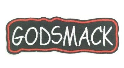 Godsmack Embroidered Applique Patch Sew iron on  Alt Rock USshipping 088