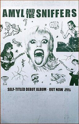 AMYL AND THE SNIFFERS 2019 Ltd Ed New RARE Tour Poster +FREE Punk Indie Poster!