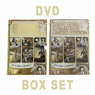 Studio Ghibli Gold Limited Edition Hayao Miyazaki 18 Movie DVD Collection BoxSet