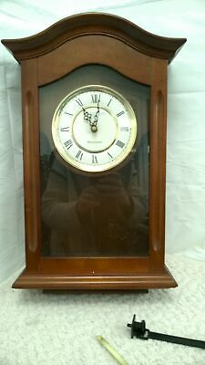 London Clock Wooden Pendulum Wall Clock With Westminster & Whittington Chimes