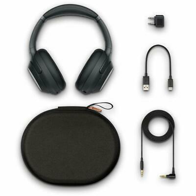 Sony WH-1000XM3/B Over Ear Wireless Bluetooth Noise Cancelling Headphones Black