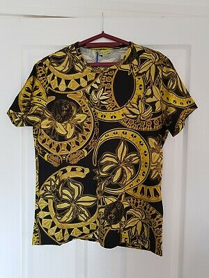 00888311 VERSACE JEANS MENS T-Shirt Size M Brand New RRP £120 100% GENUINE ...