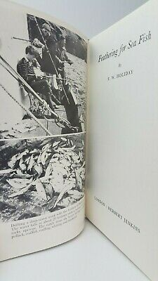 Feathering for Sea Fish F.W. Holiday mackerel cod saltwater fishing angling book