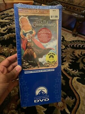 The Ten Commandments (1956) New Sealed DVD Charlton Heston COLLECTORS EDITION!
