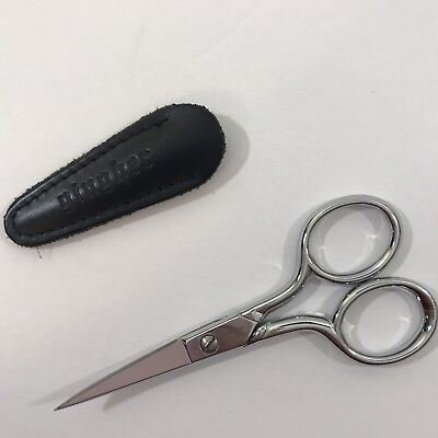 Gingher 4 Inch Curved Embroidery Scissors (01-005273) With Case