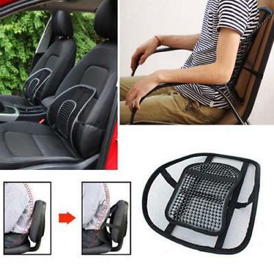 Cool Vent Cushion Mesh Back Lumbar Support New Car Office Chair Truck Seat LIN