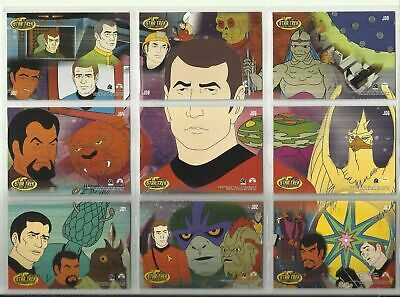 Star Trek - Animated Adventures - James Doohan Complete 9 Card Chase SET - NM