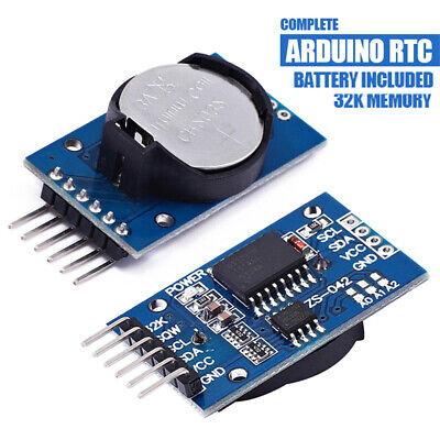 New DS3231 AT24C32 IIC Precision Real Time Clock RTC Memory Module For Arduino