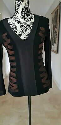 Beautiful top by Messenger size 10 - Multi fabric trulyl stunning