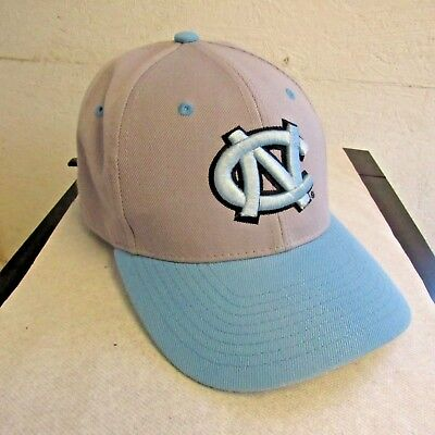 promo code 35df8 50d29 Zephyr North Carolina Tar Heels NCAA Baseball Cap Hat Grey Blue 7 1 8 Fitted