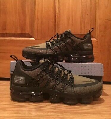 037cfe618f Nike Air Vapormax Run Utility Olive Reflective Shoes AQ8810-201 Men's Size  10.5