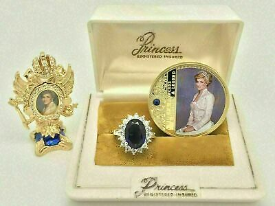 Magnificent Royal Sapphire Ring Princess Diana Style Inspired Dreamy Piece