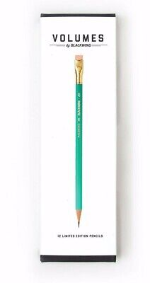 Blackwing Volume 811 BOX 12 PENCILS MARCH 2019 GLOW IN THE DARK LIBRARY EDITION