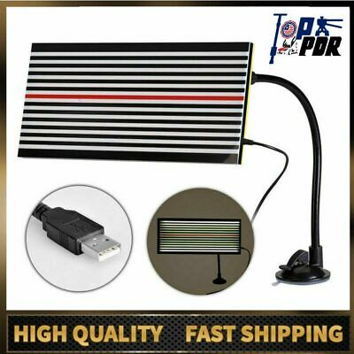 PDR Paintless Hail USB Light LED Line Board Reflector Dent Repair Removal Tool
