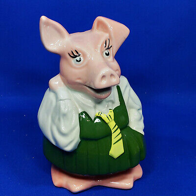 Vintage Wade NatWest Annabel Daughter Pig Money Box - VGC with Original Stopper