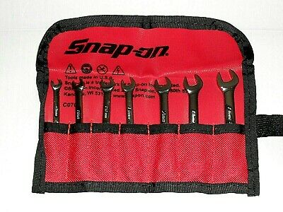 Snap On Midget Spanner Set In Pouch.4Mm To 9Mm.new.6Pt.oxim707Sbk