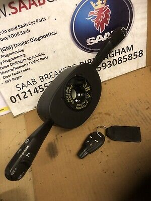 SAAB 9-3 COLUMN INTEGRATED MODULE CIM WITH ESP tech two removed 03 - 2012