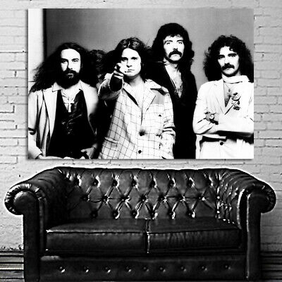 #01 Ozzy Black Sabbath Rock Metal Music 40x60 inch More Sizes Large Poster