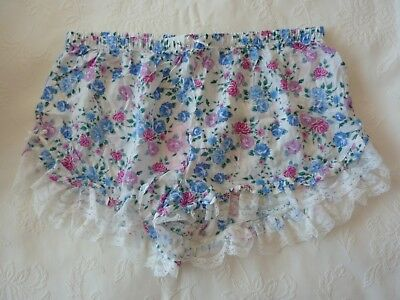 PETER ALEXANDER, Floral Sleep Shorts in Size M