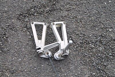 Ducati 750Ss 750 Ss Ie (1999) 900 Pair Of Rear Foot Rests / Hangers / Pegs