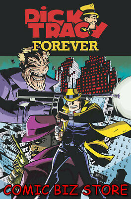 Dick Tracy Forever #2 2019)  1St Printing Oeming Main Cover A Idw Comics