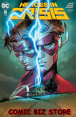 Heroes In Crisis #9 (Of 9) (2019) 1St Printing Clay Mann Main Cover Dc Universe