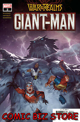 Giant Man #2 (Of 3) (2019) 1St Printing Woo Cheol Main Cover War Of The Realms