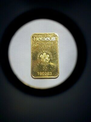 Pre Owned 5g Gold Bar