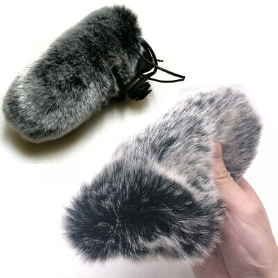 Microphone Wind pop Cover Windshield Muff Fur for VideoMic Pro RODE Deadcat VMP