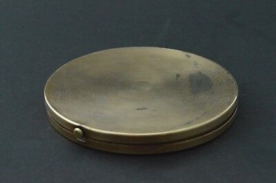 Vintage Antique COMPACT MIRROR POWDER BOX Cooper Marked made in USA 20´s