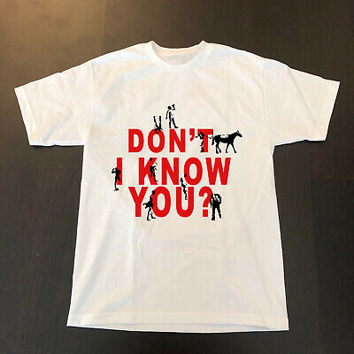 RARE-VTG NEW OLD STOCK 1980s DON'T I KNOW YOU Nikee T-shirt BO Jackson TOP.