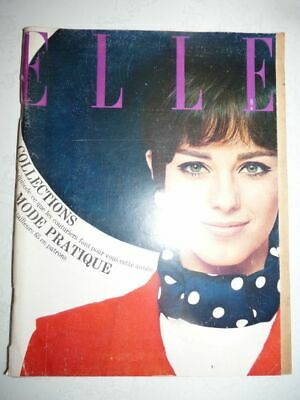 Magazine mode fashion ELLE french #1003 11 mars 1965 COLLECTIONS