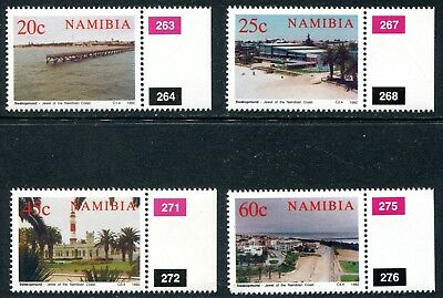 Namibia 1976 Unused (NH) Set 714-716 with Selvage Markings
