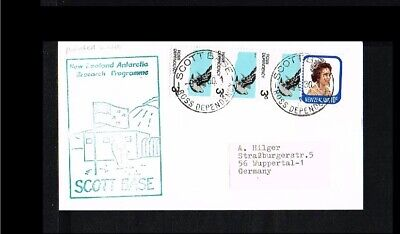 [JF013] 1980 - Ross Dependency Cover - Expeditions - Polar expeditions - Scott B