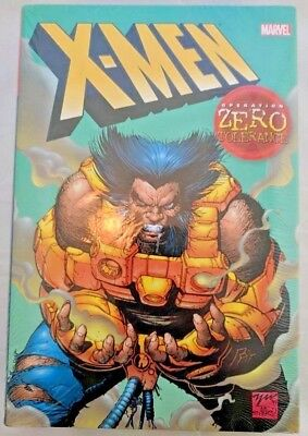 X-men: Operation Zero Tolerance HC Oversized Hardcover Omnibus New & Sealed