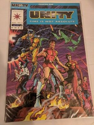Unity Time is not Absolute #0 - Chapter One NM Valiant 1991