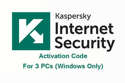 KASPERSKY INTERNET SECURITY  2019 - 3 PCs - [350 Days]