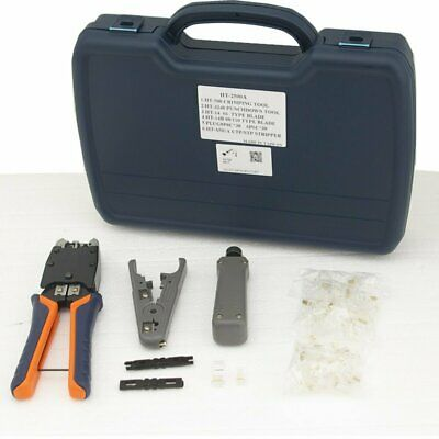 RJ11, RJ45 Strip and Crimp Kit