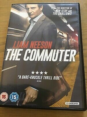 The Commuter DVD (2018) Liam Neeson - Free Uk Postage - TRADING IN THIS SUNDAY!