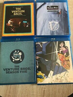 The Venture Brothers S3-6 Blu-rays (Bros, Blu, Season 3, 4, 5, 6)