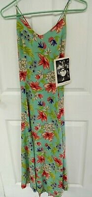 Betsey Johnson Vintage Sundress Bright Floral Size 6 NWT