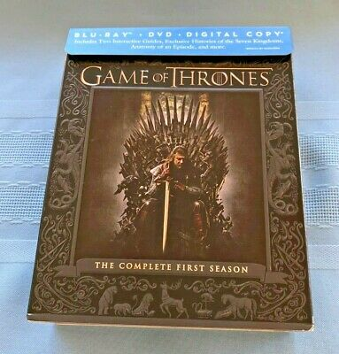 Game of Thrones: The Complete First Season (Blu-ray/DVD  + Digital Copy)